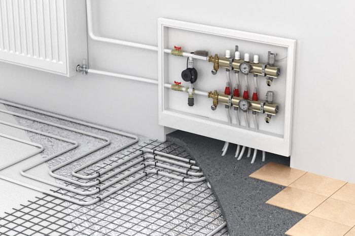 Hydronic Heating Mount Moriac