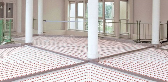 Floor Hydronic Heating Service